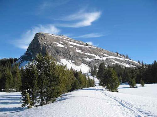 Lembert Dome in winter