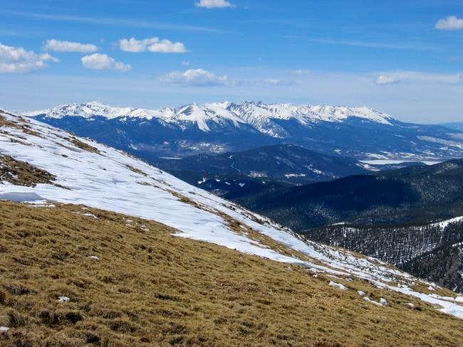 The Gore Range from Glacier...
