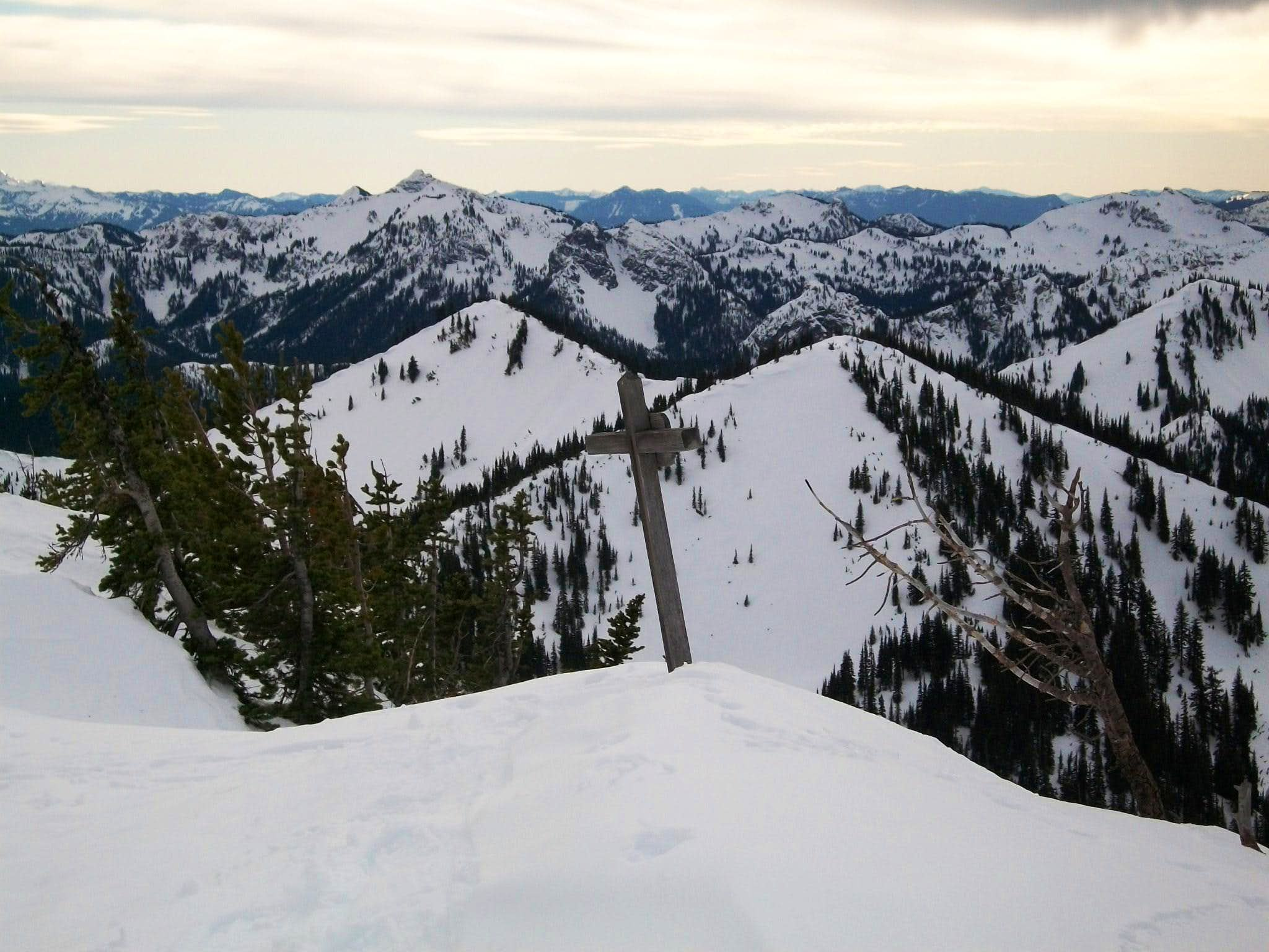 Platinum Peak via Bullion Basin (Winter Route)
