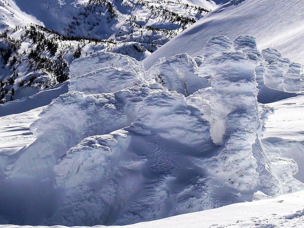 Amazing Snow Formation