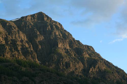 Barronette Peak, Dawn