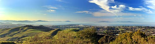 San Pablo Ridge north pano
