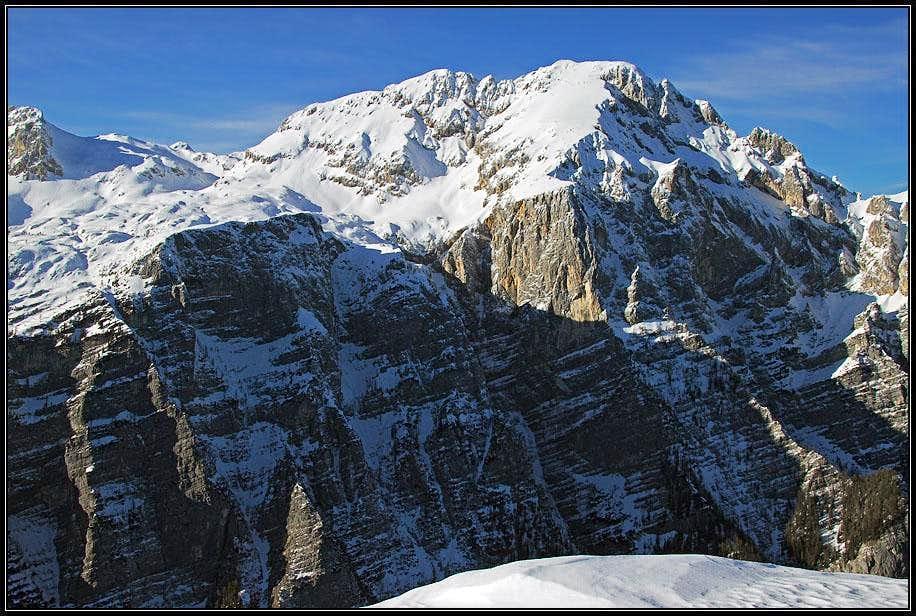 Rjavina from Debeli vrh