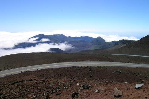 A view of the crater valley...