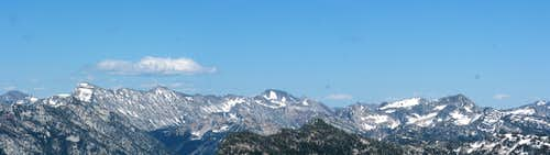 Wallowa Partial Panorama From China Cap