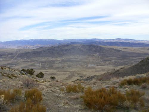 View to Antelope Valley and the Hungry Mountains HP