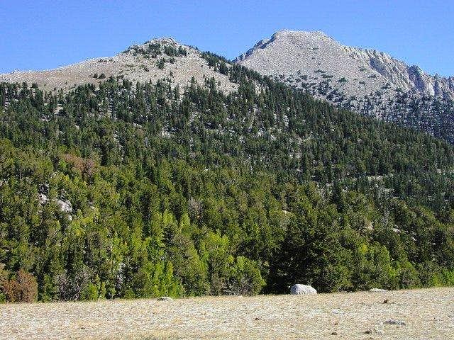 Ibapah Peak is on the right...