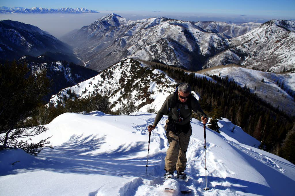 Skinning the Millcreek/Lambs Canyon Divide