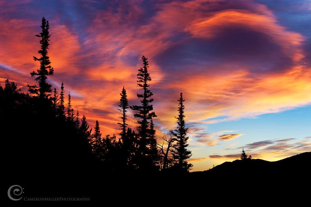 Sunrise, Rocky Mountain National Park