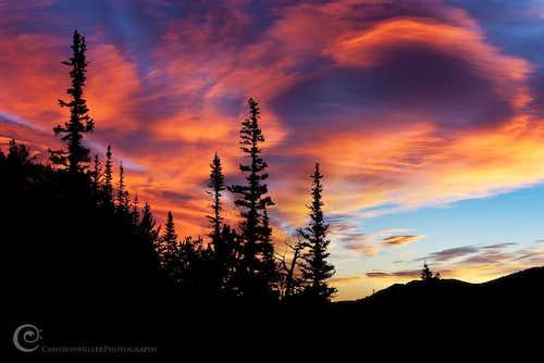 Sunrise, Rocky Mountain National Park