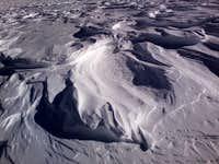 James Peak Snow Sculptures