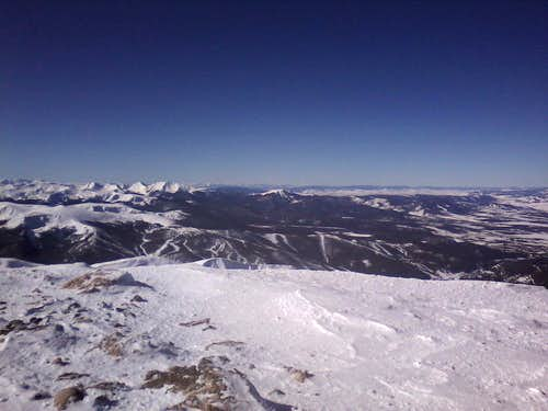 Winter Park Ski Area and Peaks Beyond
