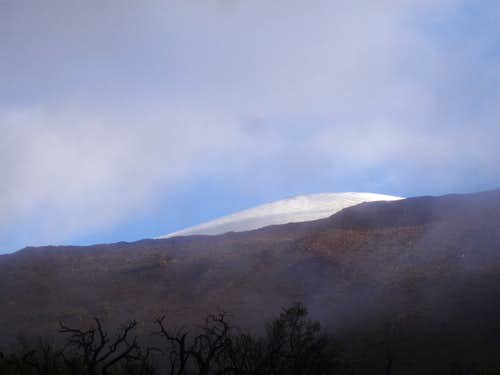 Mauna Kea from the Saddle Road