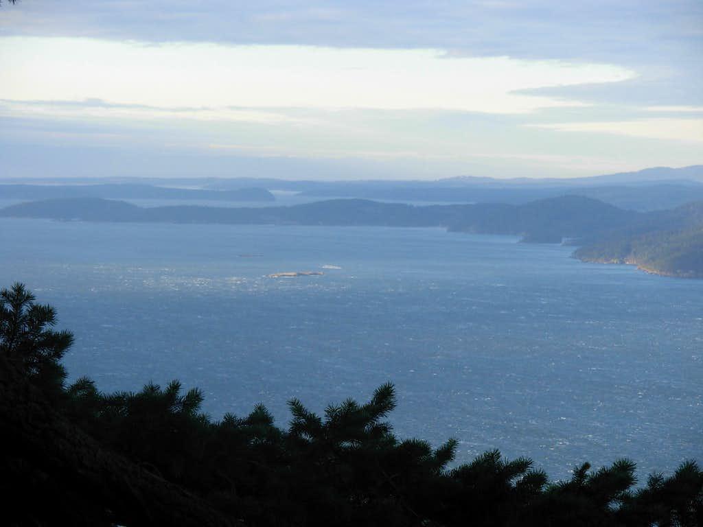 Lummi Point - WSW View