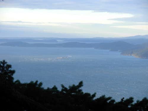 Lummi Point - WSW View