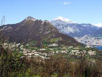 Galbiate, Monte Barro, Grigne on background