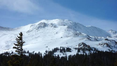 Mount Massive Winter Summit