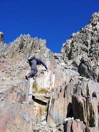 Scott, my partner in climb,...