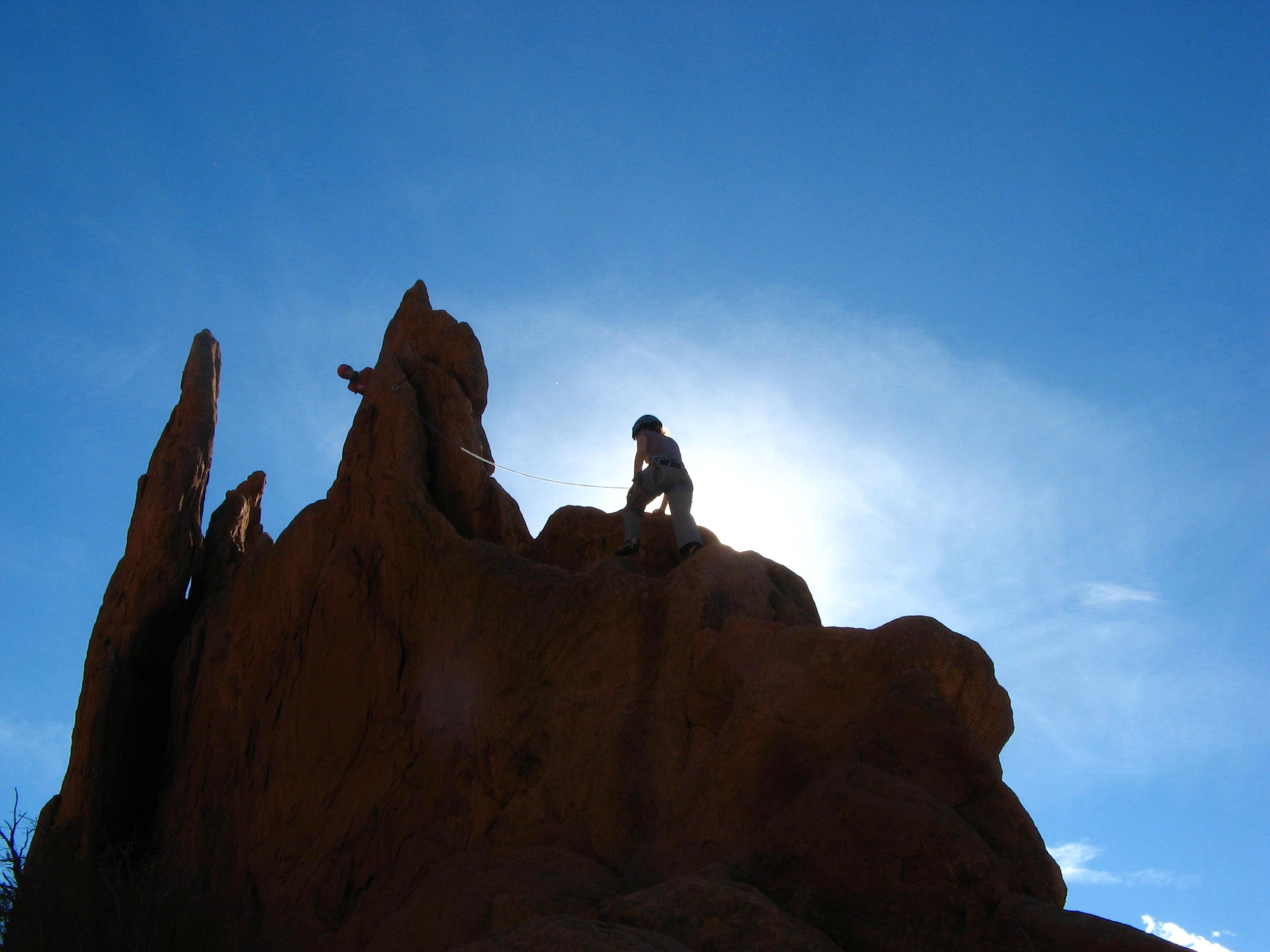 January Climbs in the Garden of the Gods