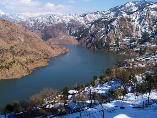 Zalzala Lake, Pakistan