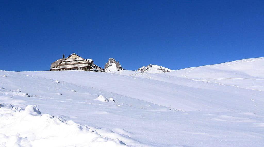 The new hut Ciucas