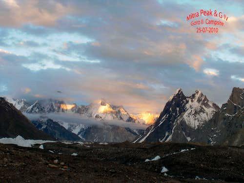 G IV & Mitre Peak, Pakistan