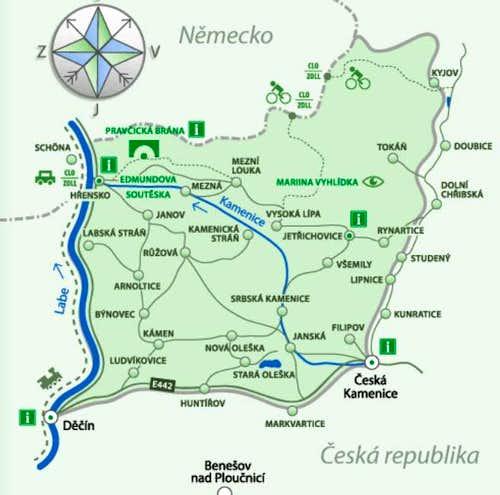 National Park České Švýcarsko (Czech Switzerland)
