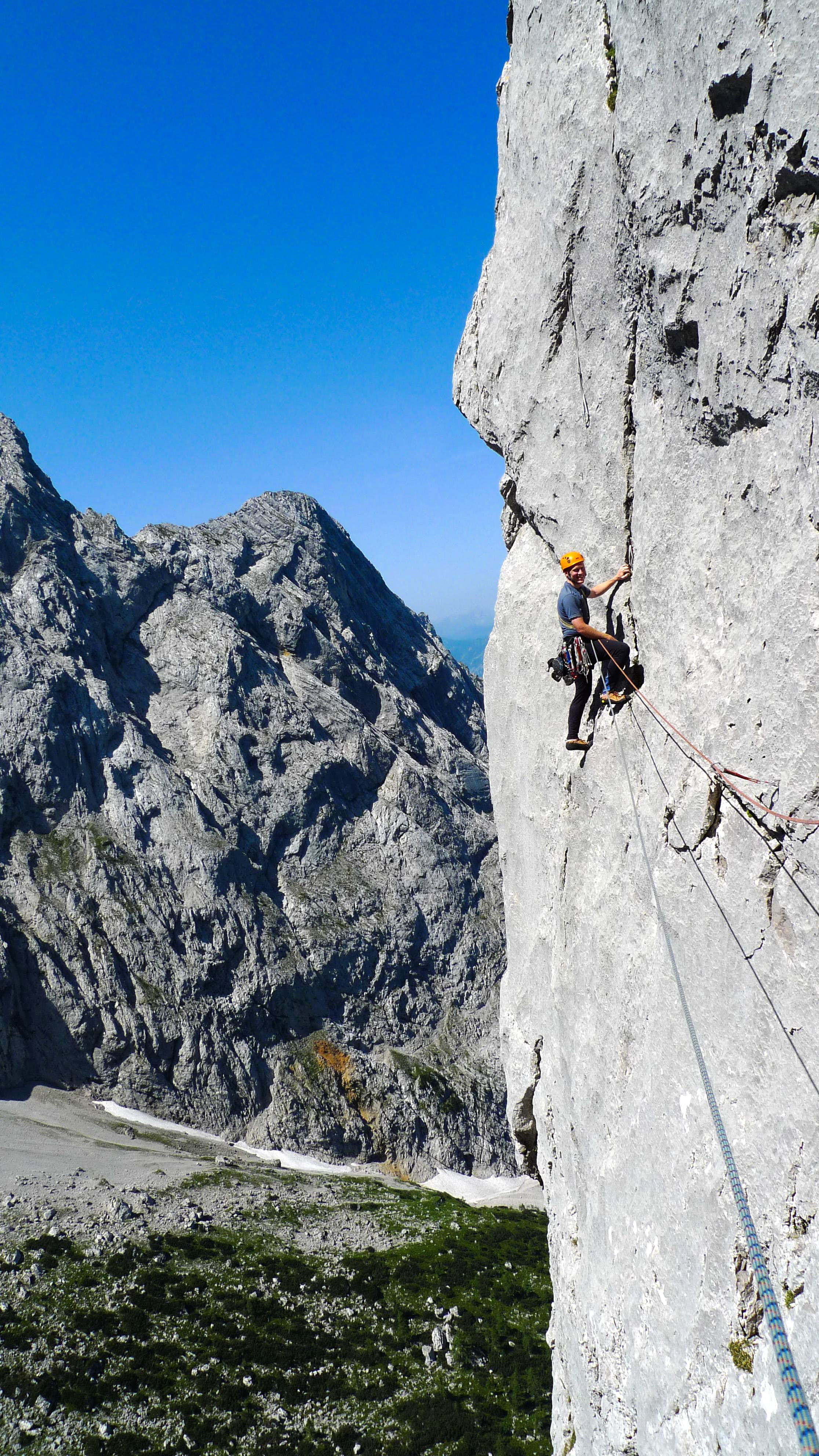 "West Face ""Dülfer Route"" (VI+)"