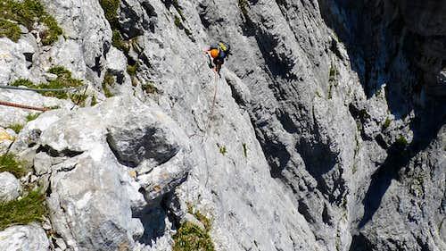 Endless climbing.