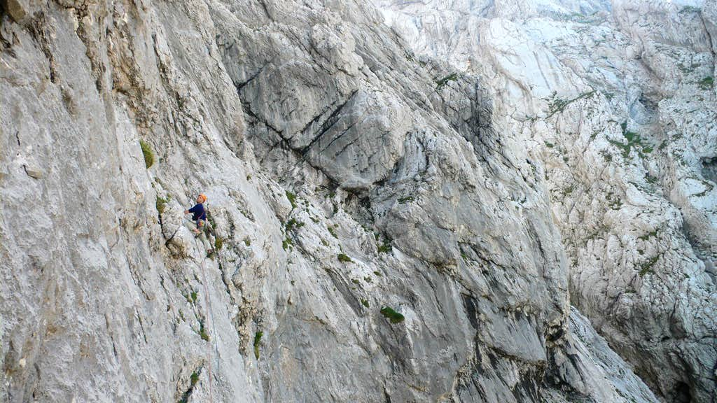 Another scene on the first traverse