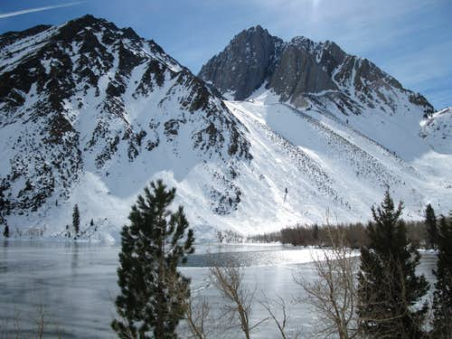 Convict Lake and Mount Morrison