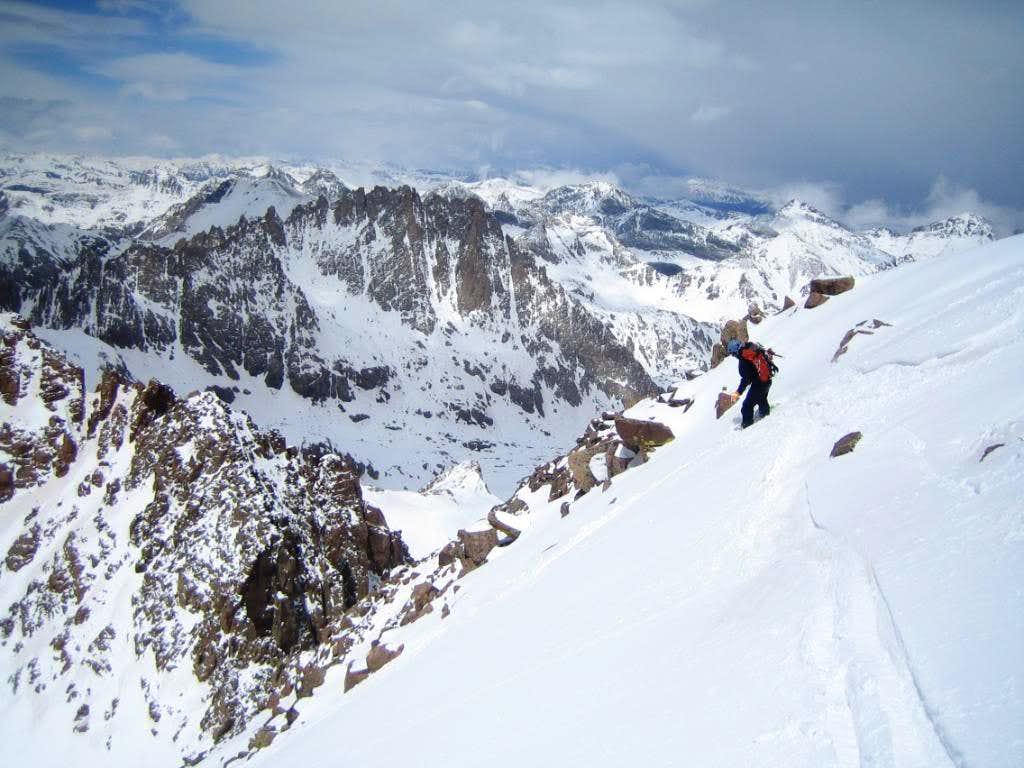 A Big Weekend in Chicago Basin: Eolus Group Ski Descents