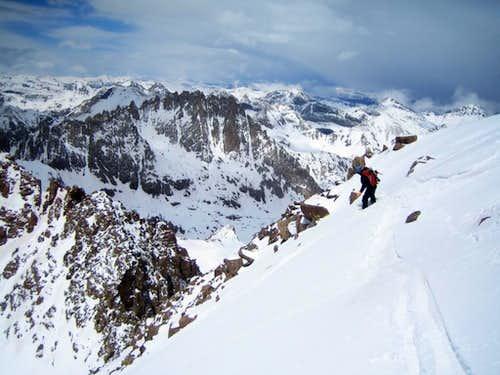 A Big Weekend in Chicago Basin: Eolus Group Ski Descents