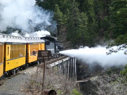 The Durango/Silverton Narrow Gauge Railroad