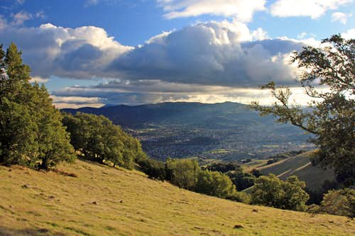 South from Burdell Mountain