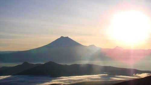 Cotopaxi from Illinizas