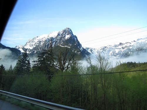 Mount Index from the Road