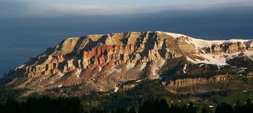 Beartooth Butte, Dawn