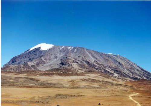 Kilimanjaro. The way to Kibo...