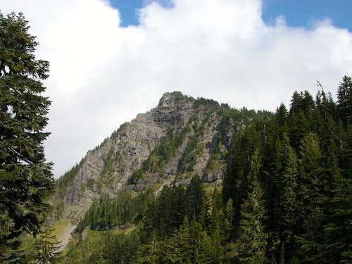 Summit of Mt. Dickerman taken...