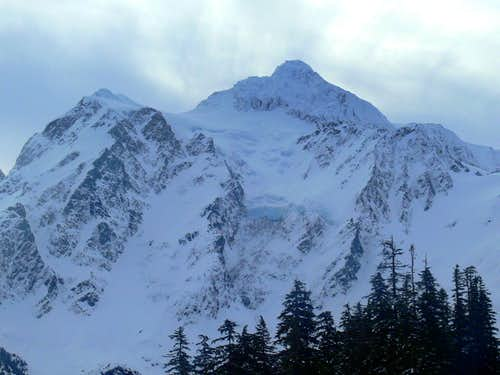 Mount Shuksan from the Trail head