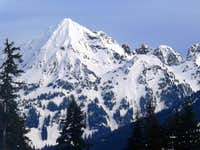 Mount Larrabee during Winter