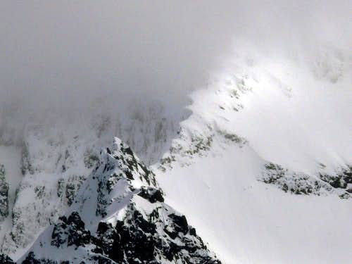 Cornice Ridge on Shuksan
