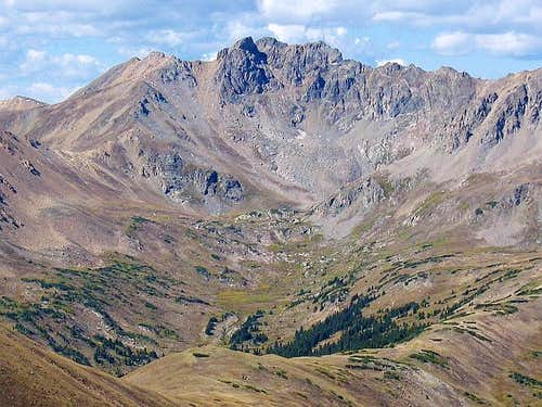 The Citadel and Herman Gulch...