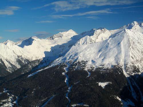 The Ankogel group peaks north of Ankogel itself