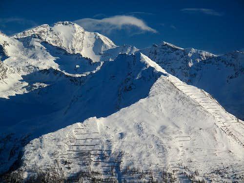 The Ankogel (3246m) in winter grandeur