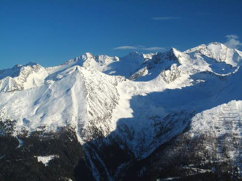The Ankogel group in winter