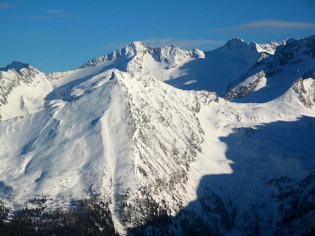 Peaks of the Ankogel group