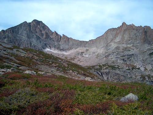 McHenrys Peak and the Arrowhead