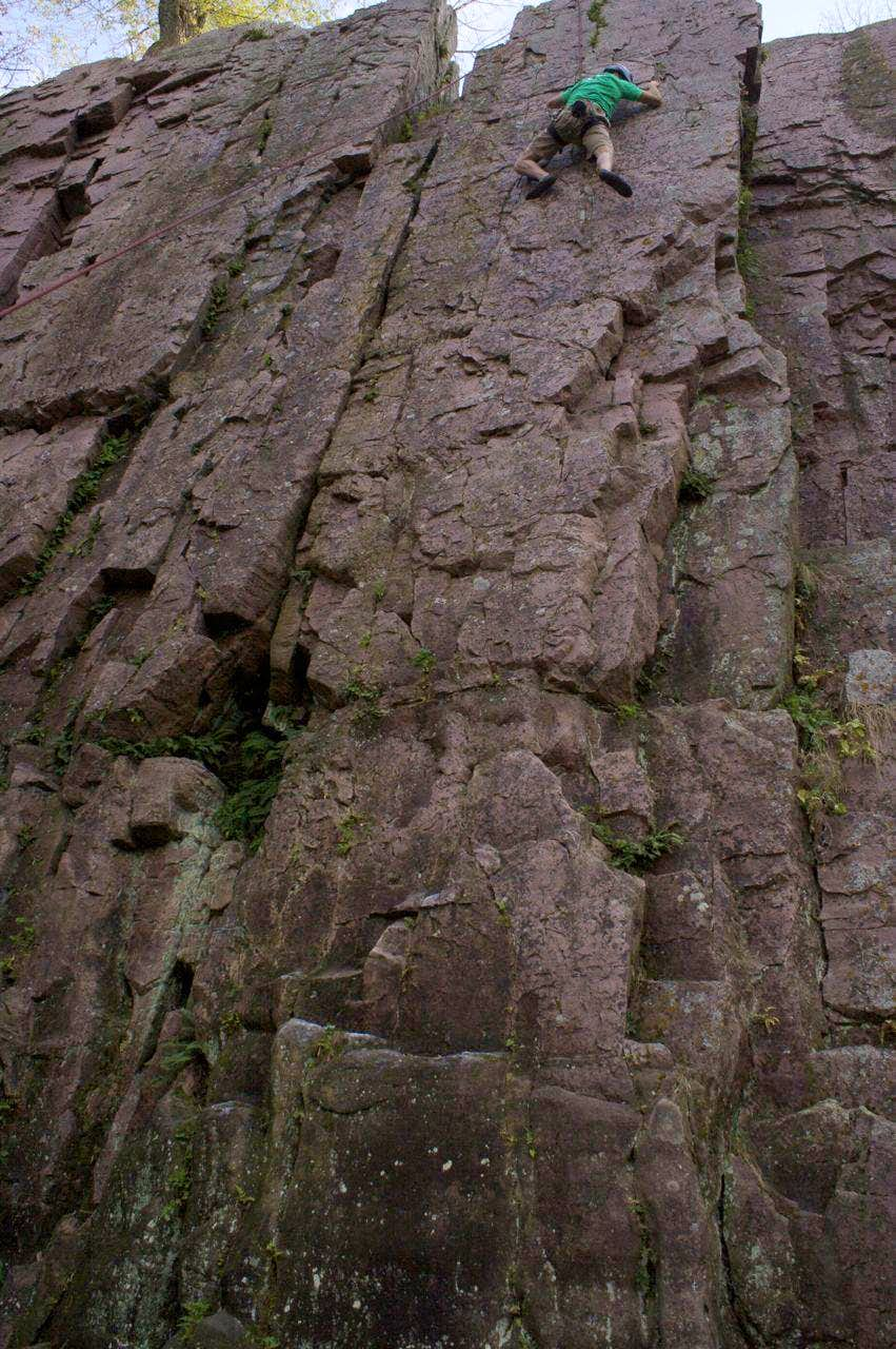 Palisades (South Dakota) Climbing